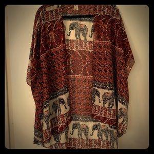 Stylish sarong jacket by Live 4 Truth